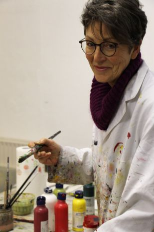 Künstlerin Maria Spieker